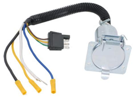 u haul quick connect trailer wiring harness 7 way adapter Molded 7 -Wire Trailer Harness