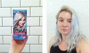 Silver Hair Dye  A Beginner U0026 39 S Guide To Dyeing Your Hair