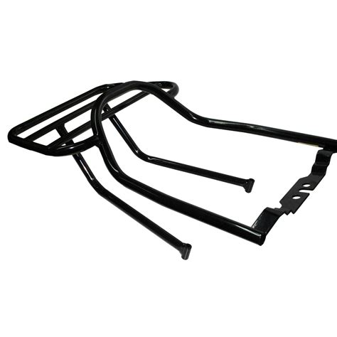motorcycle luggage rack renntec carrier sports motorcycle luggage bike rack