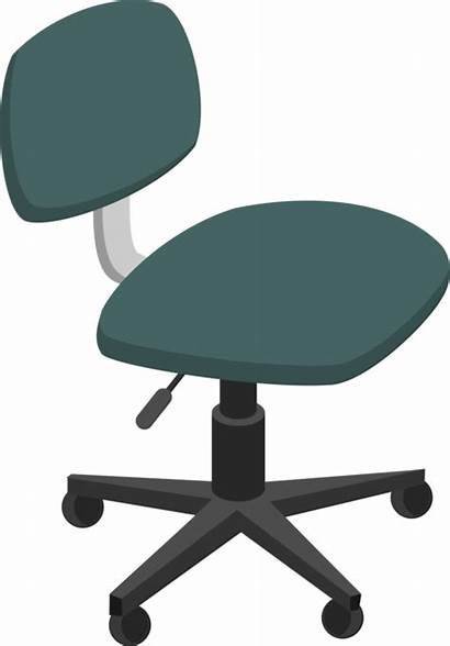 Chair Clip Clipart Computer Office Furniture Desk