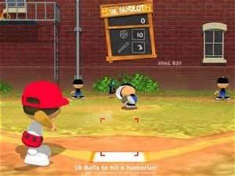 backyard baseball unblocked top 10 baseball to play that are way