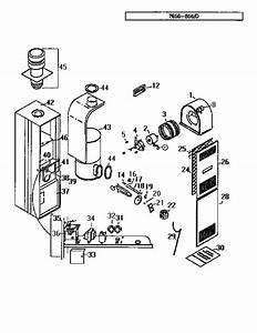 Coleman Evcon 7956 D Furnace Parts