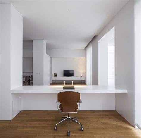 Home Office Design Valencia by Vivienda En Ciscar Balzar Arquitectos House Interiors