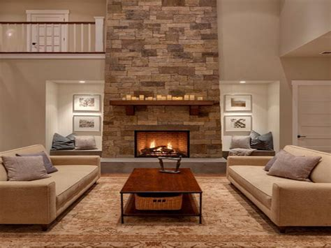 Living room designs with fireplace, great room fireplace