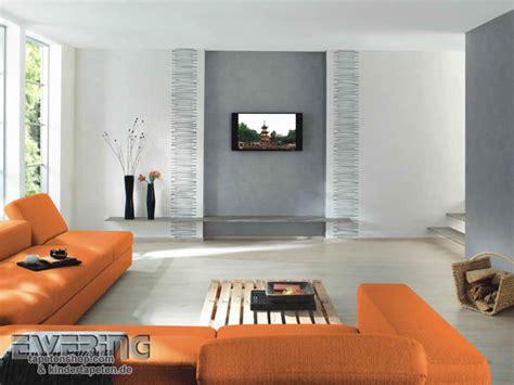 Tapeten Wohnzimmer Modern