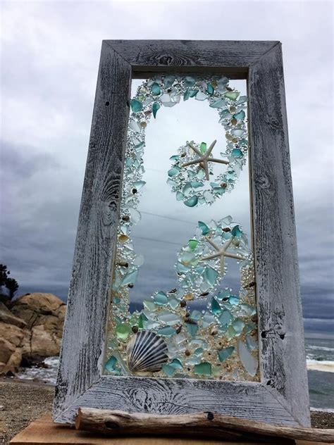 beautiful beach inspired artwork  craft ideas