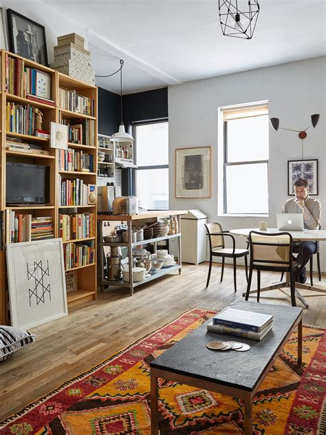 Tiny Masculine Apartment On A Budget by Small Space Solutions 17 Affordable Tips From A Nyc