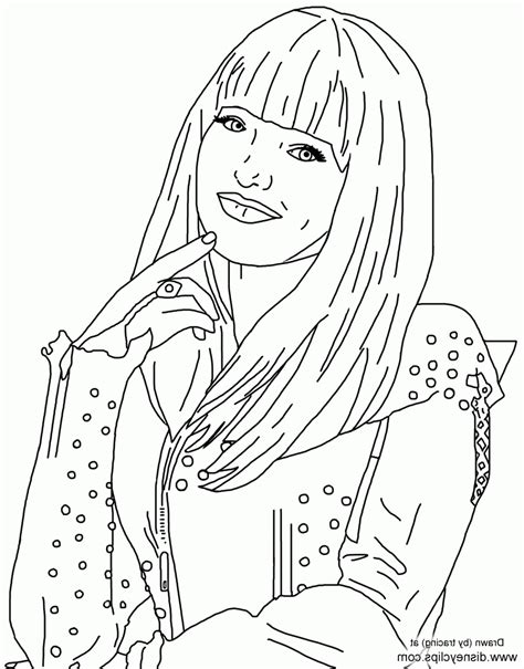 descendants  coloring pages coloring pages abbykerrink