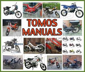 Tomos A3 Workshop  U0026 Operation Maintenance Manual  U0026 Parts