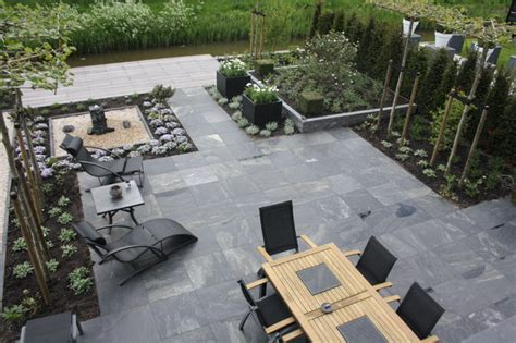 Patio Paver Ideas Houzz by My Houzz Modern Meets Traditional In The Netherlands