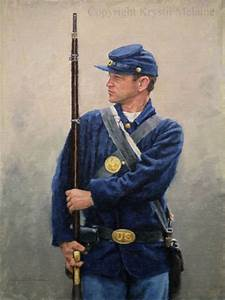 Painting of a Union Soldier by Krystii Melaine | American ...