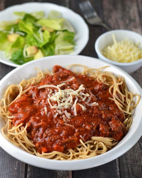 cooker spaghetti meat lover s slow cooker spaghetti sauce recipes dishmaps