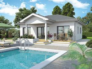 Bungalow Mit Pool : fertighaus bungalow new design v vario haus fertigteilh user ~ Frokenaadalensverden.com Haus und Dekorationen