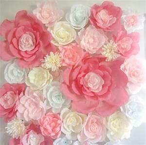 Paper Flowers Wall Art ~ Clipgoo
