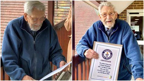 englishman bob weighton confirmed   worlds oldest