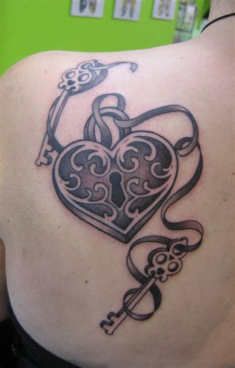 65 Beautiful Lock And Key Tattoos Desiznworld