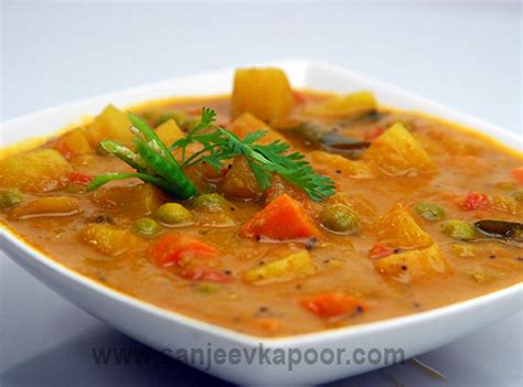 delicious cuisine how to mixed vegetable curry recipe by masterchef