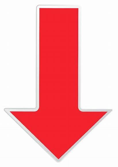 Arrow Transparent Down Clip Clipart Arrows Icons