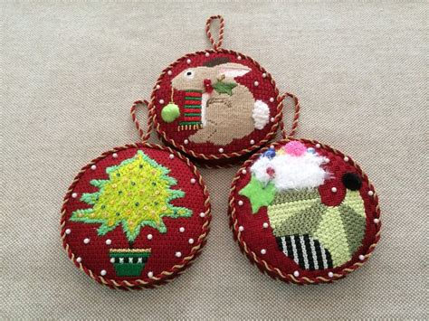 gusseted christmas ornaments needlepoint canvases by