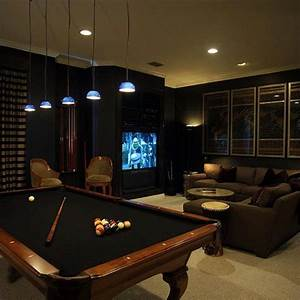 50 Gaming Man Cave Design Ideas For Men - Manly Home