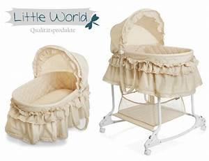 Korb Bett Baby : stubenwagen babyschaukel baby wiege kinder himmel bett komplett set beige neu ebay ~ Sanjose-hotels-ca.com Haus und Dekorationen