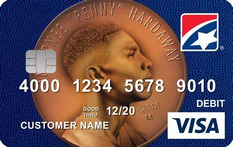 debit card features penny hardaway