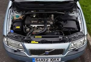 File Volvo S80 2 4t 2002 Blue  Engine Bay  Jpg