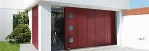 Porte De Garage Pliante À La Française 4 Vantaux : les portes de garage coulissantes ~ Nature-et-papiers.com Idées de Décoration