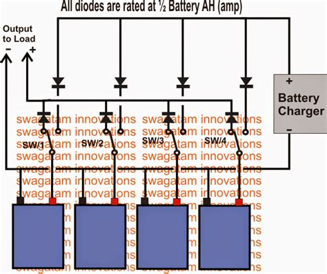 Parallel Battery Charger With Changeover Circuit Using