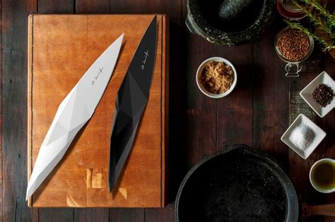 stone age inspired knives modern knife