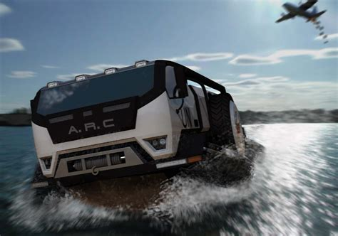 hibious rescue vehicle a r c amphibious rescue craft by adam schacter at