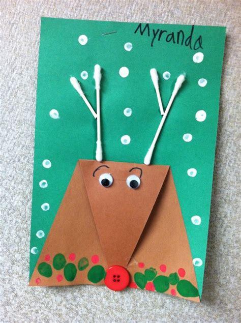 christmas art for kindergarten 20 reindeer crafts for 187 dragonfly designs