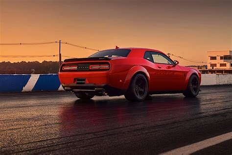 Dodge Challenger Srt Demon Specs