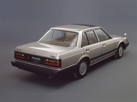 Honda Accord 4 Doors Specs 1981 1982 1983 1984 1985