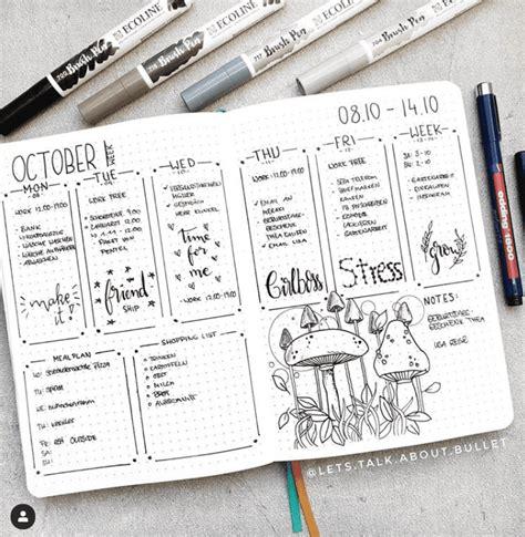 bullet journal theme ideas  month bullet journal