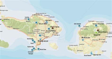 indonesia map bali lombok