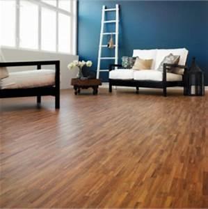 Association De Couleur : couleur salon murs bleus sol en parquet et meubles wenge ~ Dallasstarsshop.com Idées de Décoration