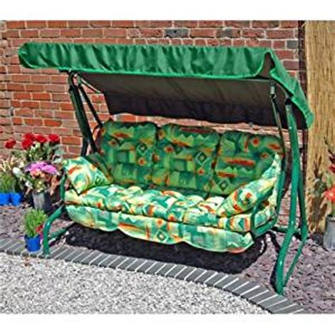 3 seater swing hammock replacement cushion set with