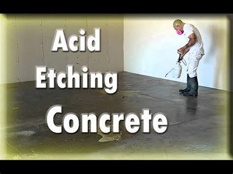 Instructions & Tutorials Preparing Concrete For Epoxy