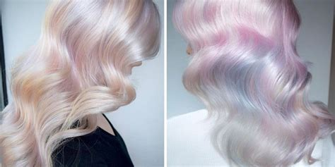 Opal Hair Iss Newest Hair Color Trend  Hair Color Trends