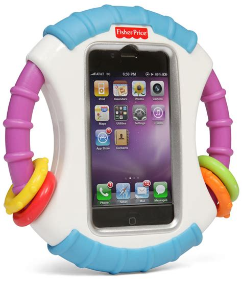iphone for toddlers 1 3 years thinkgeek