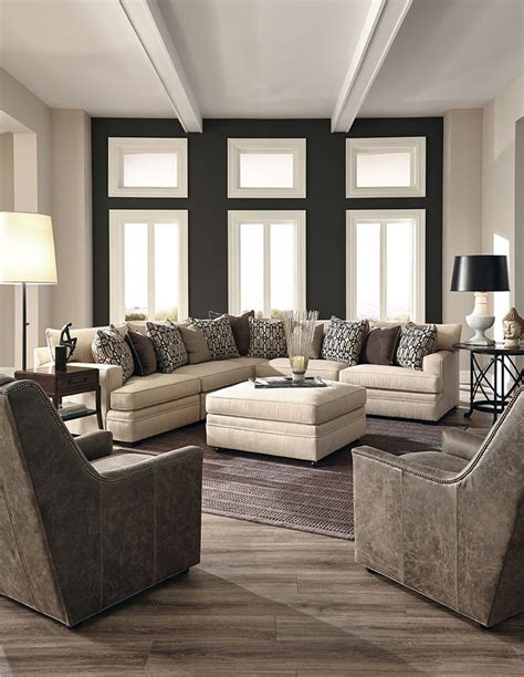 floor decor huntington large scale huntington house sectional perfect for a family room furniture sectional sofa