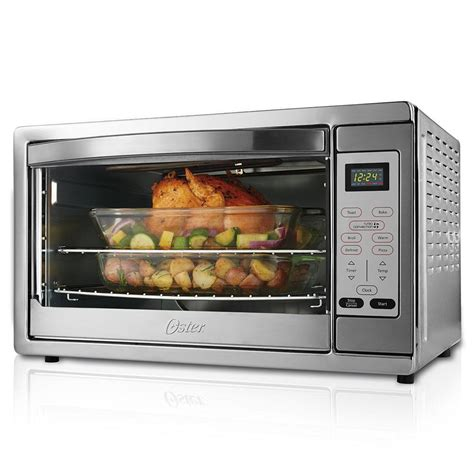 Countertop Oven With Convection by Oster Large Capacity Countertop 6 Slice
