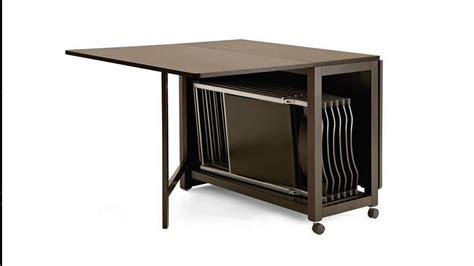 storage for folding chairs and tables folding table with chair storage inside and wheels plus