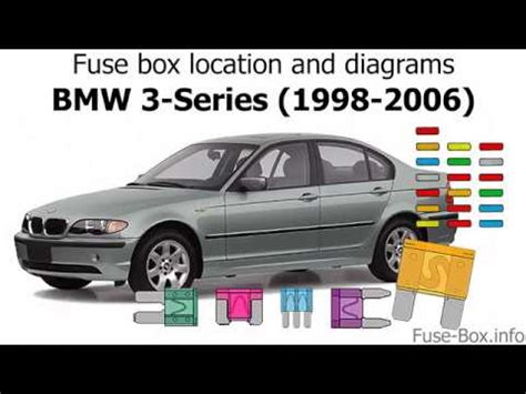fuse box location  diagrams bmw  series    youtube