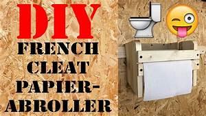 French Cleat Deutsch : ordnung in der werkstatt diy french cleat papierabroller ~ A.2002-acura-tl-radio.info Haus und Dekorationen