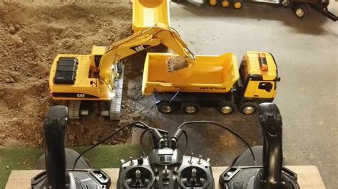 Harga Rc Excavator Cat rc excavator cat 320 with joysticks