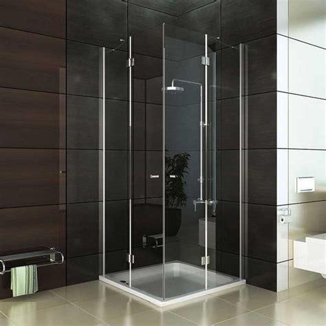 duschabtrennung glas 90x90 duschabtrennung design f 252 sie einen hauch modern und edel f 252 r ihr badezimmer