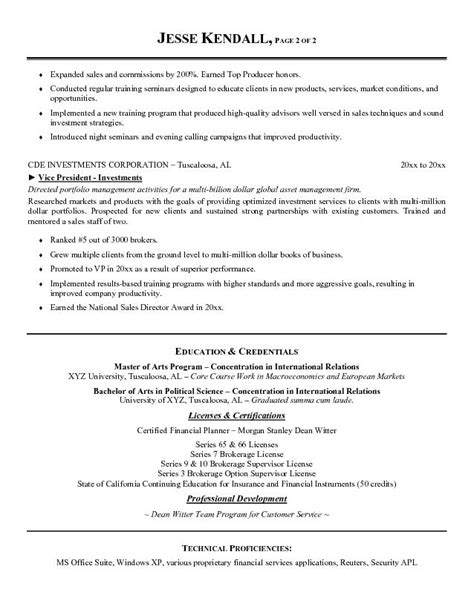 sle resume for investment banking analyst 15 images