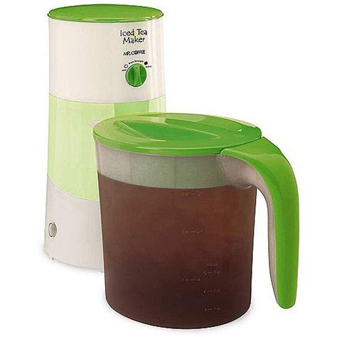 5 out of 5 stars. Mr. Coffee Iced Tea Maker, Assorted Colors i have this in teal and i love it! throw tea - loose ...